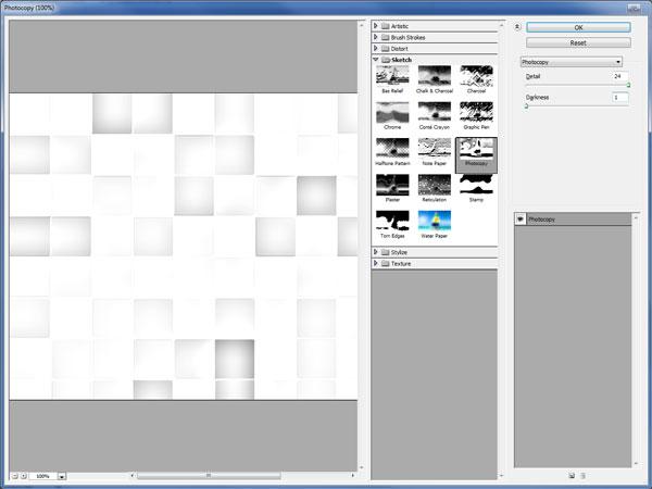 Cách tạo hiệu ứng khảm trên tường trong Photoshop 11