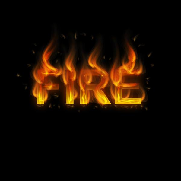 Cách tạo hiệu ứng chữ lửa trong 10 phút trong Illustrator