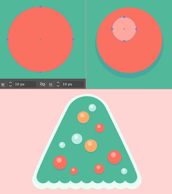 Đồ trang trí bằng quả cầu thủy tinh trên cây thông Noel