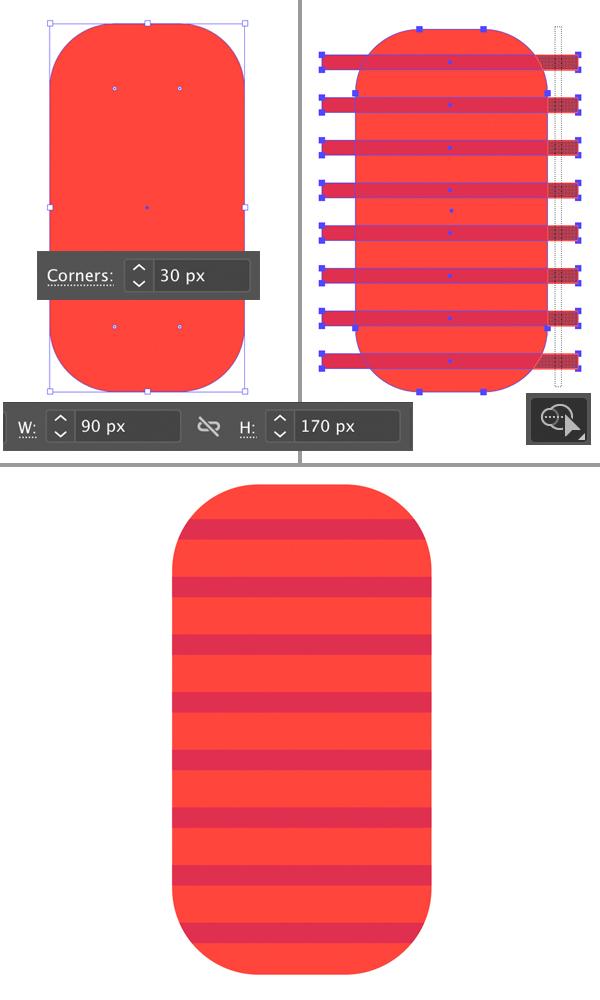 hình dạng thiết kế đèn lồng