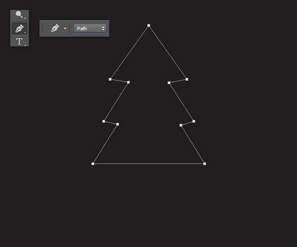 Cách tạo cây thông Noel trong Adobe Photoshop 3