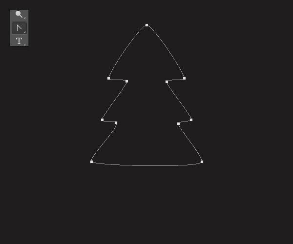 Cách tạo cây thông Noel trong Adobe Photoshop 4