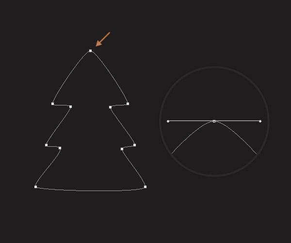 Cách tạo cây thông Noel trong Adobe Photoshop 5