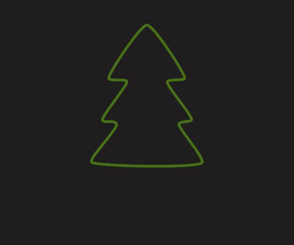 Cách tạo cây thông Noel trong Adobe Photoshop 14