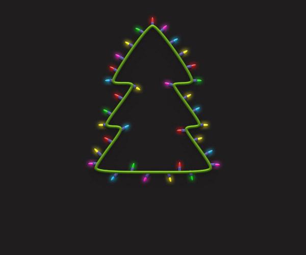 Cách tạo cây thông Noel trong Adobe Photoshop 31