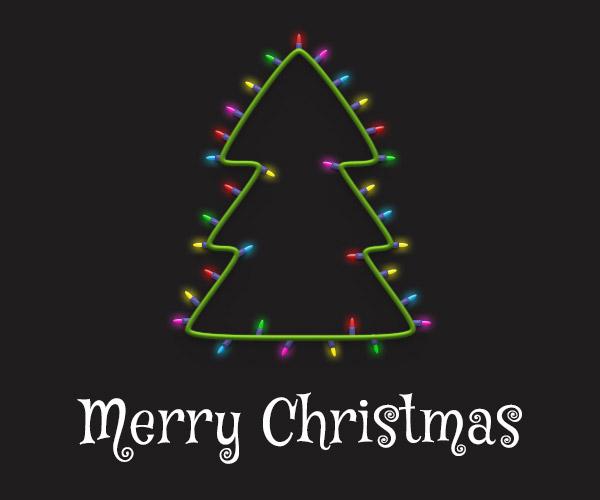Cách tạo cây thông Noel trong Adobe Photoshop 33