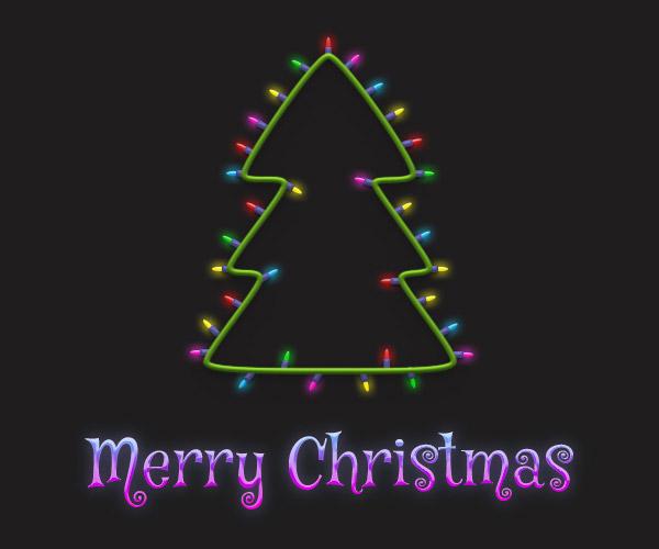 Cách tạo cây thông Noel trong Adobe Photoshop 34