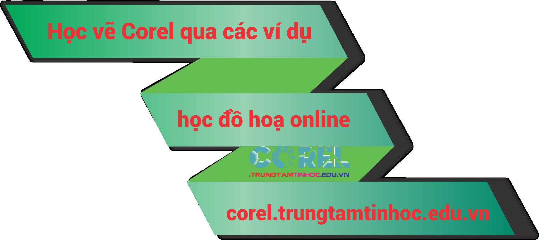 vẽ dạng biể đồ trong Corel