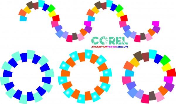 Vẽ logo bằng công cụ smartfill