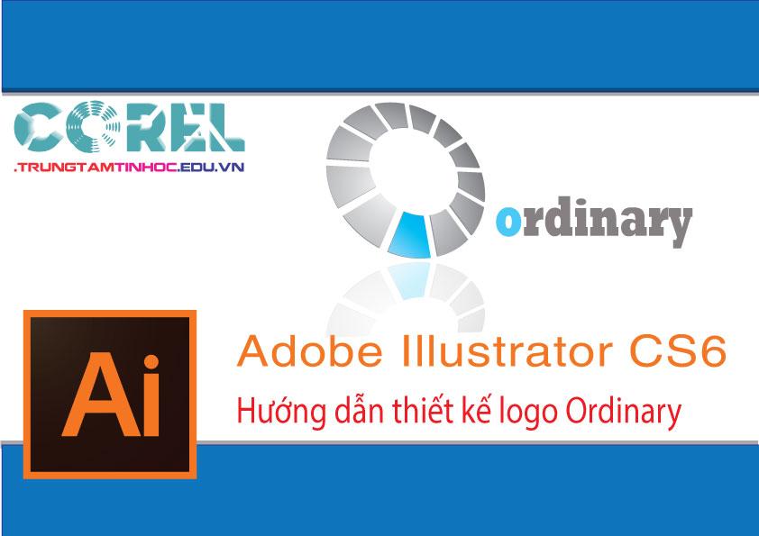 Tự học AI online, thiết kế logo đơn giản Ordinary