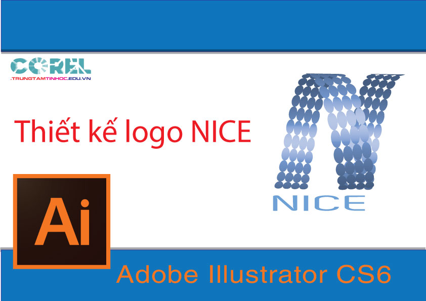 Tự học AI online,thiết kế logo Nice