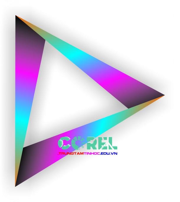 Vẽ logo Diamond trong Corel
