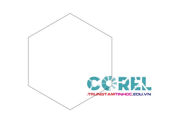 vẽ polygon trong corel