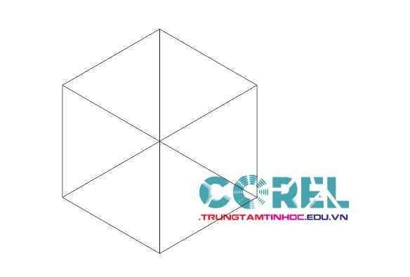 vẽ hình khối trong corel